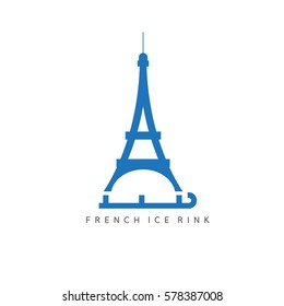 drawing eiffel tower ink stock vector royalty free 783850570