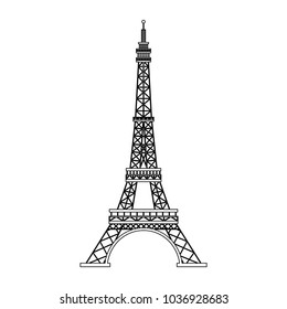 Eiffel tower symbol