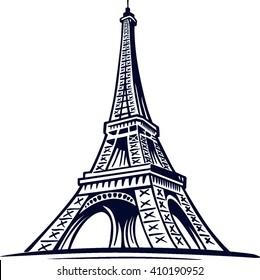 eiffel tower, symbol of Paris, France