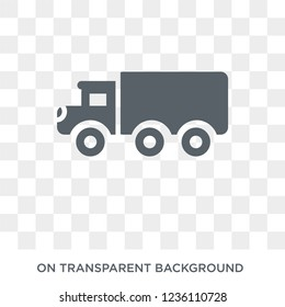 eighteen-wheeler icon. eighteen-wheeler design concept from Transportation collection. Simple element vector illustration on transparent background.