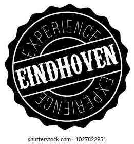 Eindhoven stamp. Typographic label, stamp or logo