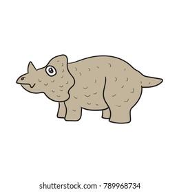 Einiosaurus Vector Cute