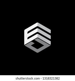 EJ initial logo design