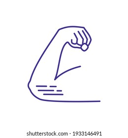 Elbow injuries RGB color icon. Tendonitis. Broken arm bones. Elbow conditions. Upper limb disorder. Repetitive motion injury. Workplace trauma. Strains and sprains. Isolated vector illustration