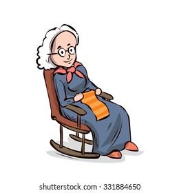 Grandmother Rocking Chair Images Stock Photos Vectors Shutterstock