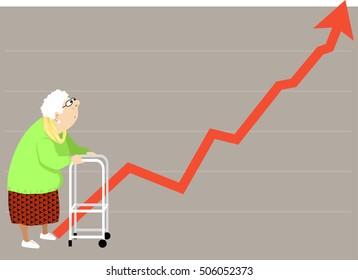 Elderly Walker Images, Stock Photos & Vectors | Shutterstock