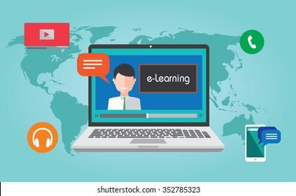 e-learning online webinar presentation
