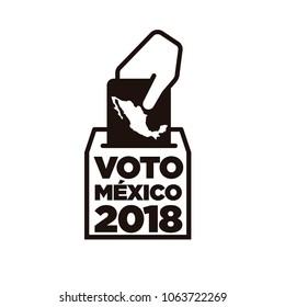 Elecciones Mexico 2018, Mexico Elections 2018 spanish text