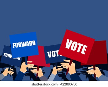 Election Campaign Stock Illustrations Images Vectors Shutterstock