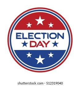 election day logo vector