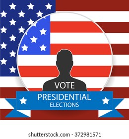 Election of the president of the United States. US presidential election