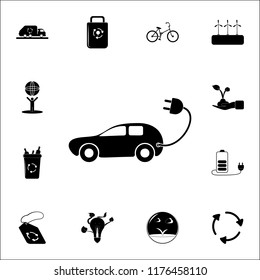 Electra car icon. Ecology icons universal set for web and mobile