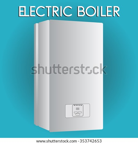 Electric Boiler House Heating Boilers Home Stock Vector (Royalty ...