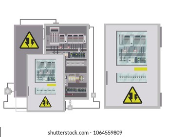 Electric box, industrial electrical control panel
