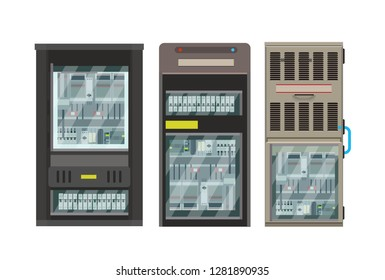 Electric box, industrial electrical control panels