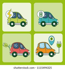 Electric car and green energy