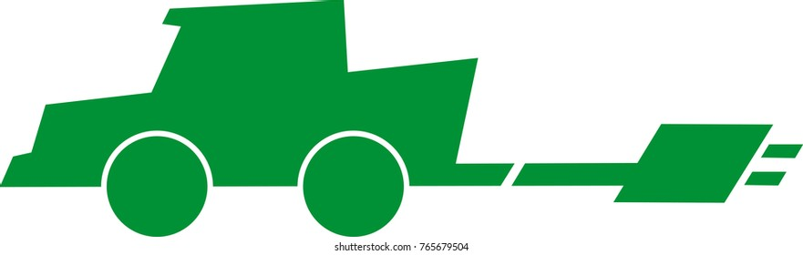 Electric car logo vector