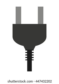 electric connector isolated icon design, vector illustration  graphic