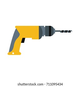 electric drill tool icon image
