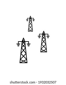 electric line icon,vector best flat icon.