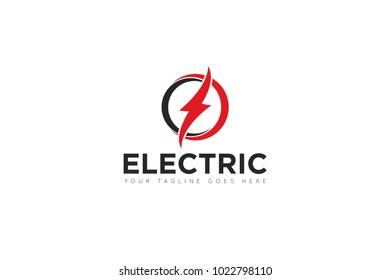 electric logo and icon Vector design Template. Vector Illustrator Eps.10