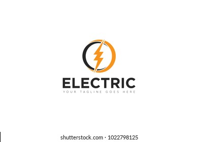 electric logo and icon Vector design Template. Vector Illustrator Eps.10