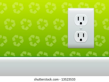 Electrical Outlet Symbol Images Stock Photos Vectors Shutterstock