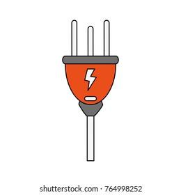 Electric plug symbol