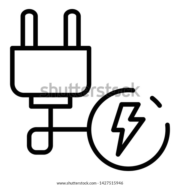 Electric Plug Wire Icon Outline Electric Stock Vector ... on switch diagrams, lighting diagrams, led circuit diagrams, engine diagrams, smart car diagrams, transformer diagrams, electronic circuit diagrams, electrical diagrams, pinout diagrams, motor diagrams, honda motorcycle repair diagrams, hvac diagrams, friendship bracelet diagrams, troubleshooting diagrams, sincgars radio configurations diagrams, gmc fuse box diagrams, internet of things diagrams, battery diagrams, series and parallel circuits diagrams,