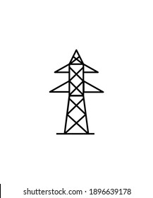 electric pole icon,vector best flat icon.