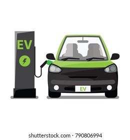 electric vehicle , ev station