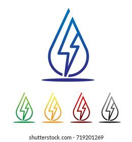 electric water logo