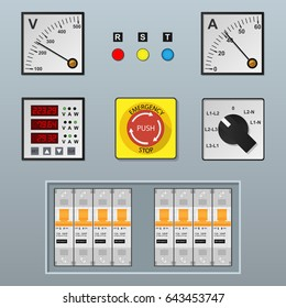 electrical control panel and equipment