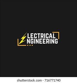 electrical engineering. vector. logo electrical engineering
