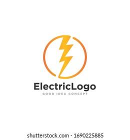 Electrical Logo Icon Design Vector