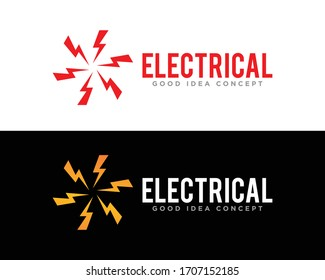Electrical Logo Icon Design Vector