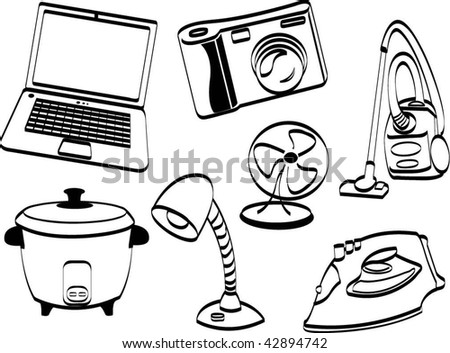 Electrical Products Stock Vector Royalty Free 42894742