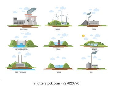 Electricity & energy illustration