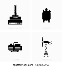 Electricity generation stations