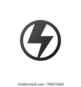 Electricity icon or logo vector design template