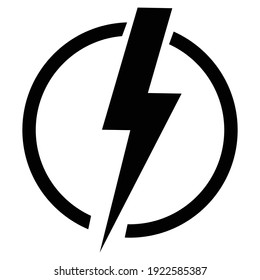 ELECTRICITY ICON Stock Illustration and Vector