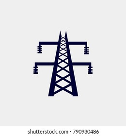 electricity icon, Vector illustration.