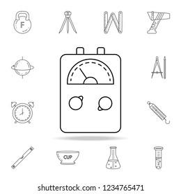 electricity meter icon. Detailed set of measuring instruments icons. Premium graphic design. One of the collection icons for websites, web design, mobile app