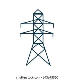 electricity power tower pyllon image