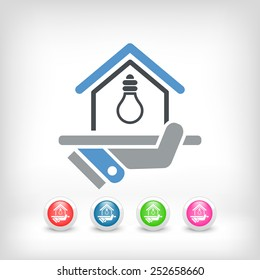 Electricity supply icon