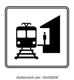 Electro train stop