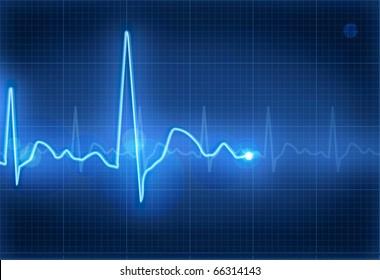 Electrocardiogram, eps10