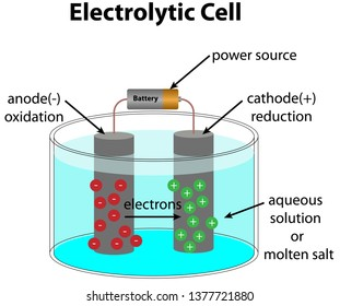Electrolytic cel diagram