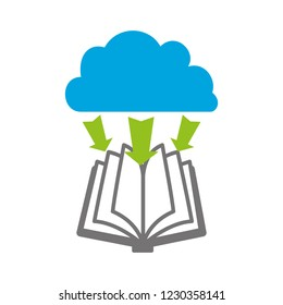 electronic book with cloud computing