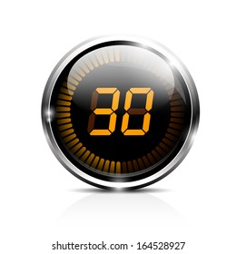 Electronic brilliant timer 30 seconds